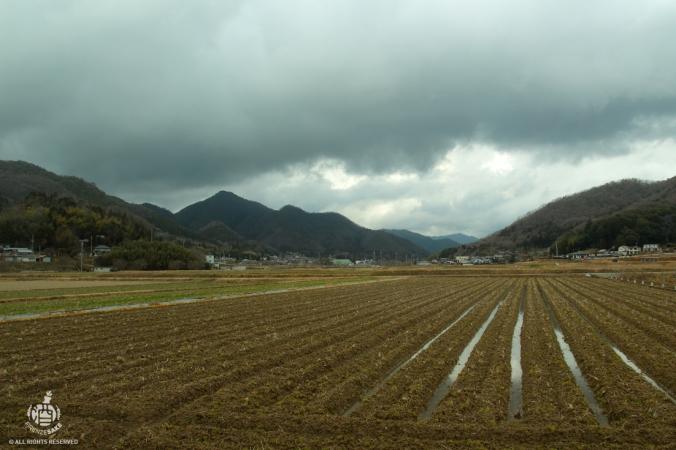Paesaggio giapponese.