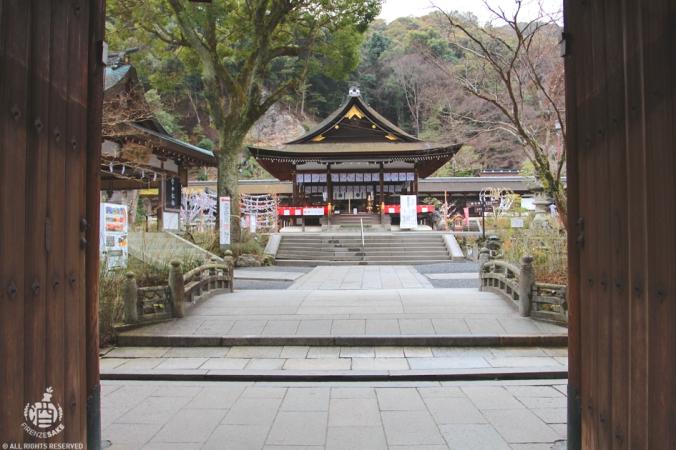 Tempio di Matsunoo, Kyoto.
