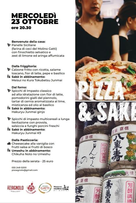 Pizza e sake