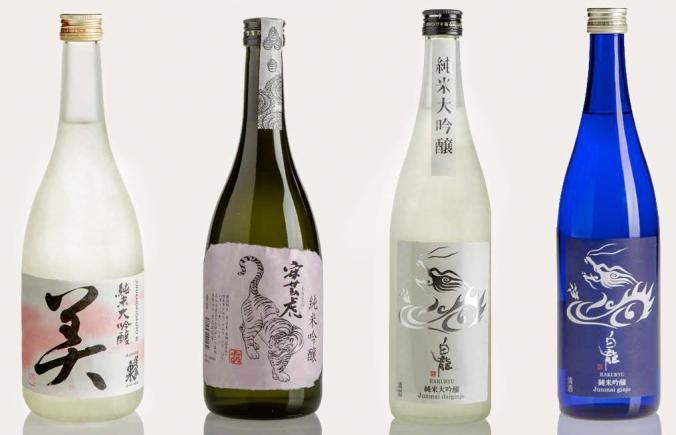 Bottiglie sake