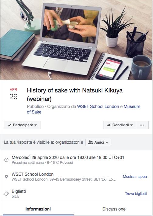 Webinar by Natsuki Kikuya